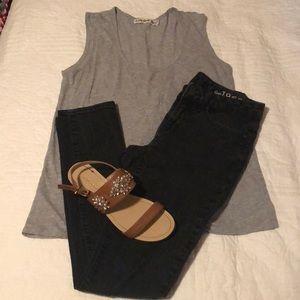 Skinny black Gap jeans